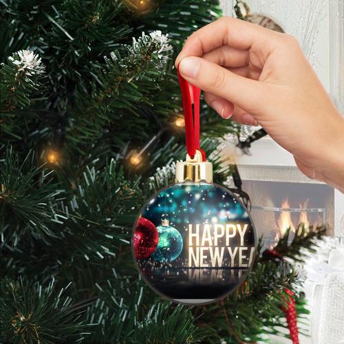 Ёлочный шар с блестками  Фото 04, Подарок к новому году