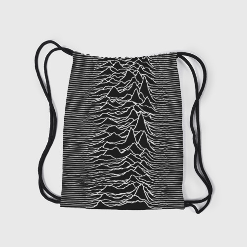 Рюкзак-мешок 3D Joy Division. Unknown Pleasures Фото 01