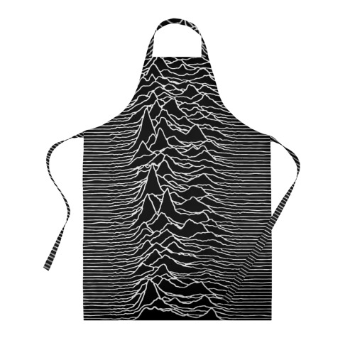 Фартук 3D Joy Division. Unknown Pleasures Фото 01