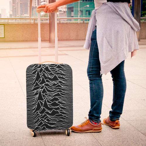 Чехол для чемодана 3D Joy Division. Unknown Pleasures Фото 01