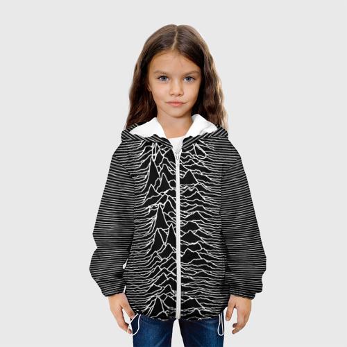 Детская куртка 3D Joy Division. Unknown Pleasures Фото 01