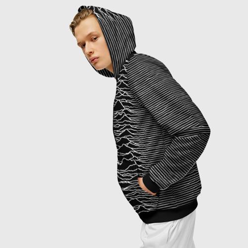 Мужская толстовка 3D на молнии Joy Division. Unknown Pleasures Фото 01