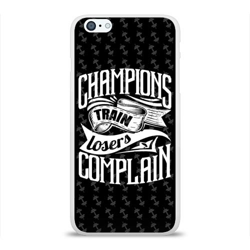Чехол для Apple iPhone 6Plus/6SPlus силиконовый глянцевый  Фото 01, Champions Train