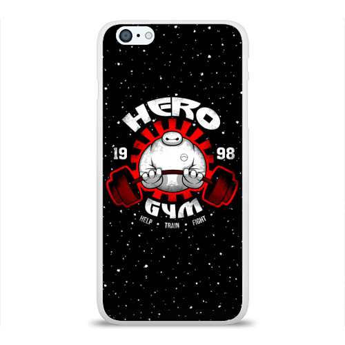 Чехол для Apple iPhone 6Plus/6SPlus силиконовый глянцевый  Фото 01, Hero Gym