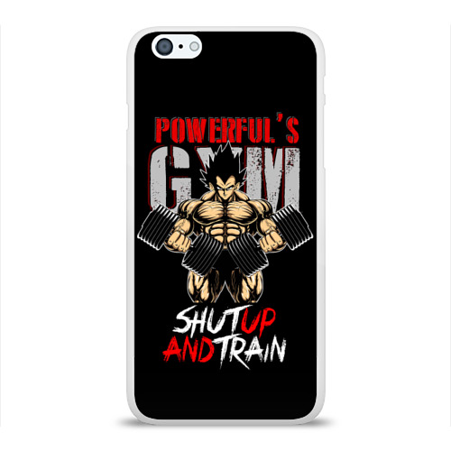 Чехол для Apple iPhone 6Plus/6SPlus силиконовый глянцевый  Фото 01, Powerful's Gym
