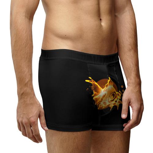 Мужские трусы 3D  Фото 03, Золотая рыбка