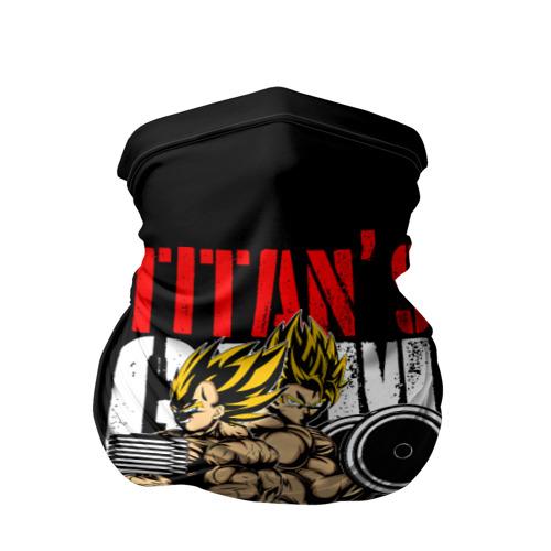 Бандана-труба 3D  Фото 01, Titans Gym
