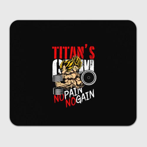 Коврик прямоугольный  Фото 01, Titans Gym