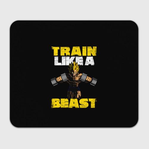 Коврик для мышки прямоугольный  Фото 01, Train Like a Beast