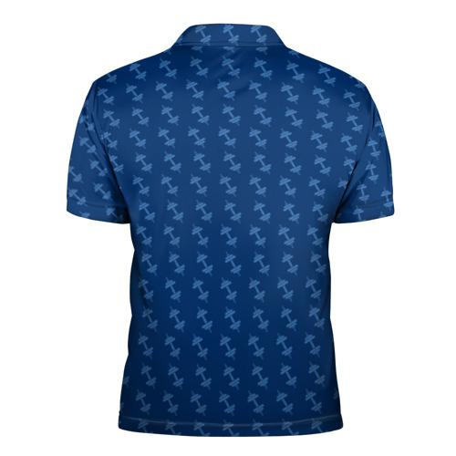 Мужская рубашка поло 3D  Фото 02, Vault Gym