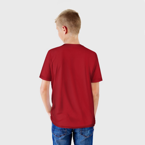 Детская футболка 3D  Фото 02, One Punch Gym