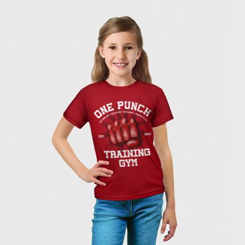 Детская футболка 3D  Фото 03, One Punch Gym