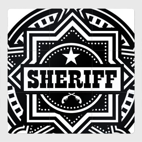 Магнитный плакат 3Х3 Шериф