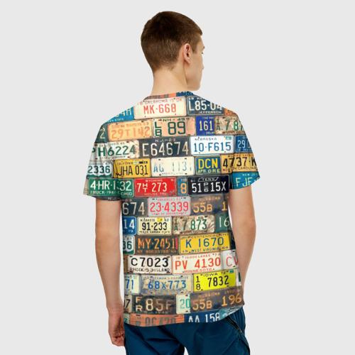 Мужская футболка 3D  Фото 02, Автомобильные номера мира