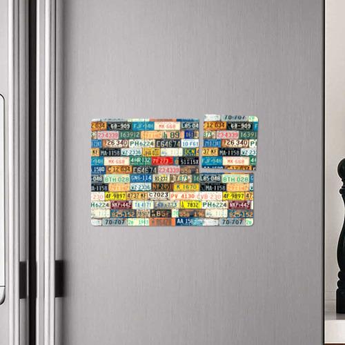 Магнитный плакат 3Х2  Фото 04, Автомобильные номера мира