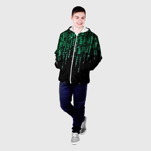 Мужская куртка 3D  Фото 03, Матрица