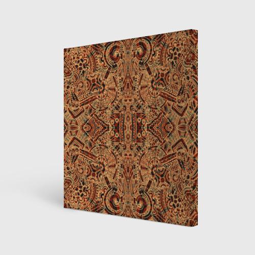 Холст квадратный  Фото 01, Ацтекские формы 2