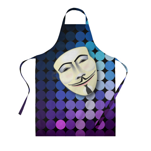 Фартук 3D Анонимус