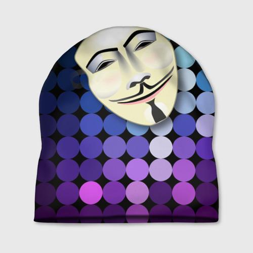 Шапка 3D Анонимус