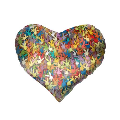 Подушка 3D сердце  Фото 02, Кролики Playboy