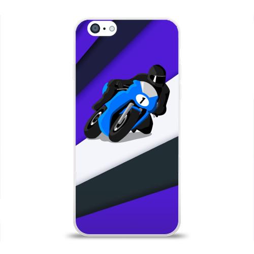 Чехол для Apple iPhone 6 силиконовый глянцевый  Фото 01, Sportsbike