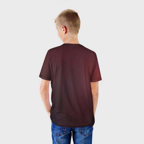 Детская футболка 3D  Фото 02, Red