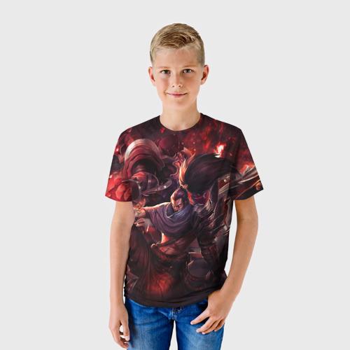 Детская футболка 3D  Фото 01, Red
