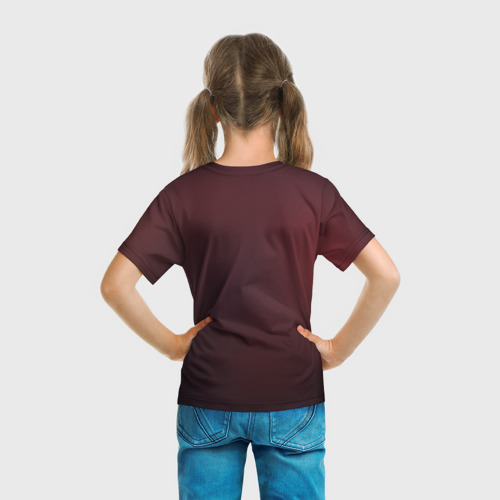 Детская футболка 3D  Фото 04, Red