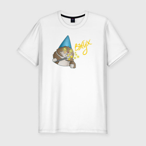 Мужская футболка премиум  Фото 01, ВЖУХ котик