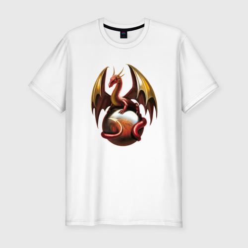 Мужская футболка премиум  Фото 01, дракон