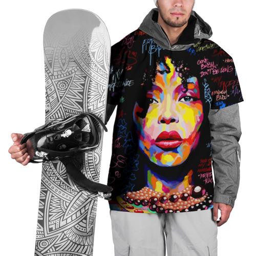 Накидка на куртку 3D  Фото 01, Ямайка, девушка