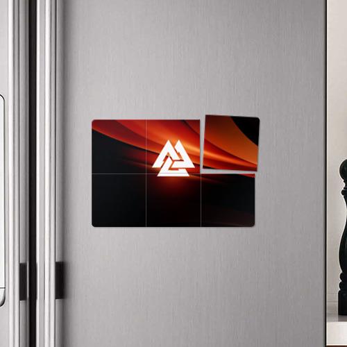 Магнитный плакат 3Х2  Фото 04, Валькнут
