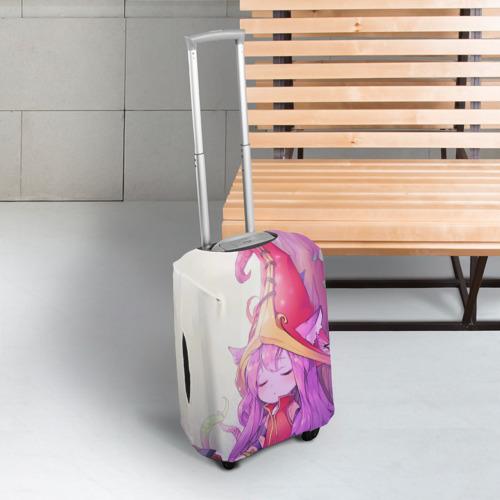 Чехол для чемодана 3D Дерево Фото 01