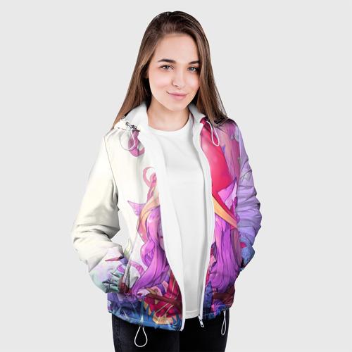 Женская куртка 3D Дерево Фото 01
