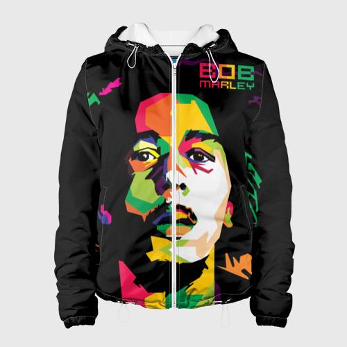 Женская куртка 3D  Фото 01, Ямайка, Боб Марли