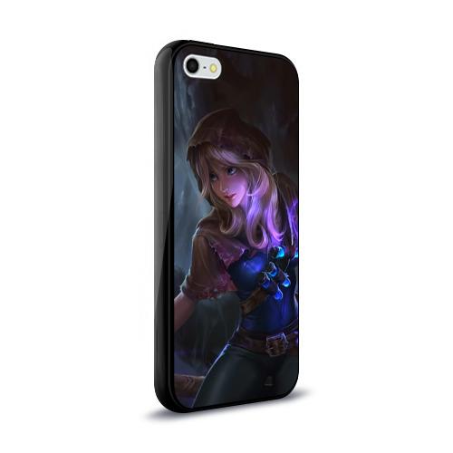 Чехол для Apple iPhone 5/5S силиконовый глянцевый  Фото 02, Магия