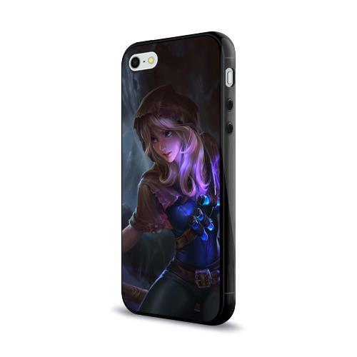 Чехол для Apple iPhone 5/5S силиконовый глянцевый  Фото 03, Магия