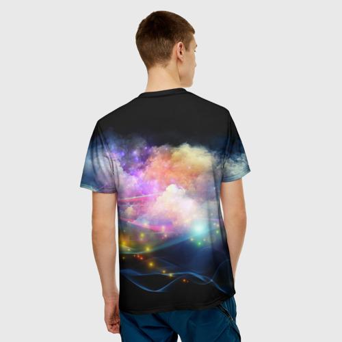 Мужская футболка 3D  Фото 02, Цветной узор 6