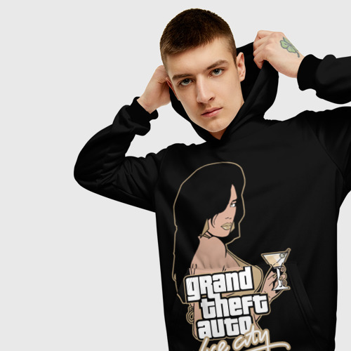 Мужская толстовка 3D GTA