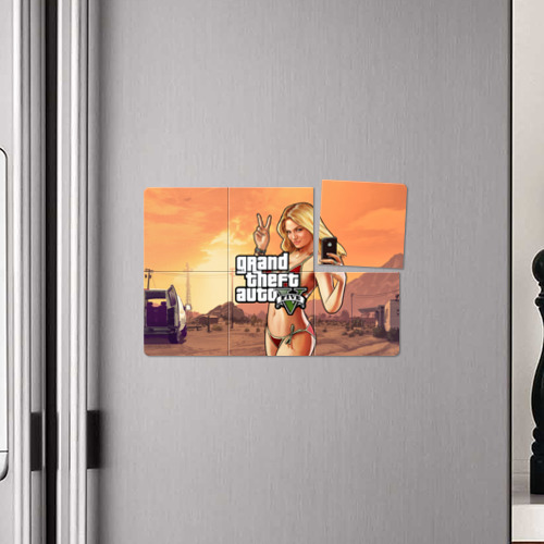 Магнитный плакат 3Х2  Фото 04, GTA