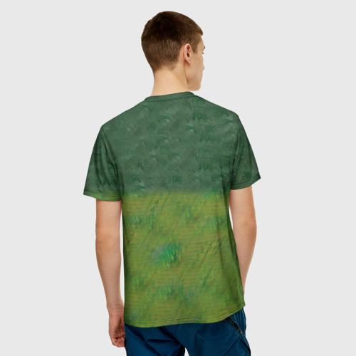 Мужская футболка 3D  Фото 02, Соник Бум