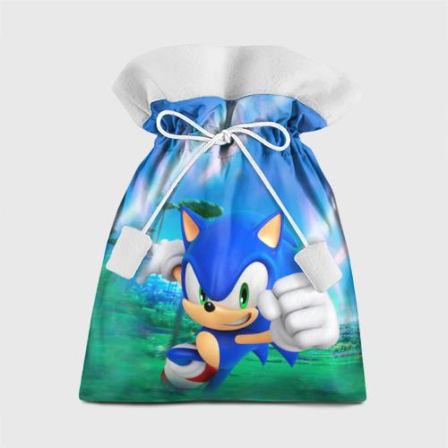 Подарочный 3D мешок Соник Бум