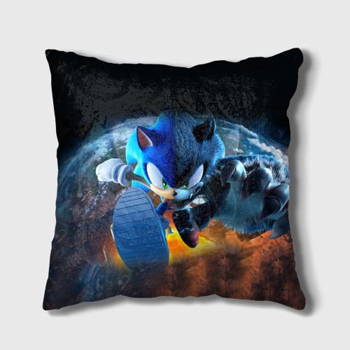 Подушка 3D Соник Бум Фото 01