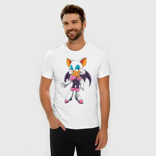 Мужская футболка премиум  Фото 03, Летучая мышь Руж