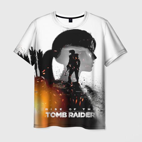 Мужская футболка 3D  Фото 03, Rise of the Tomb Raider 1