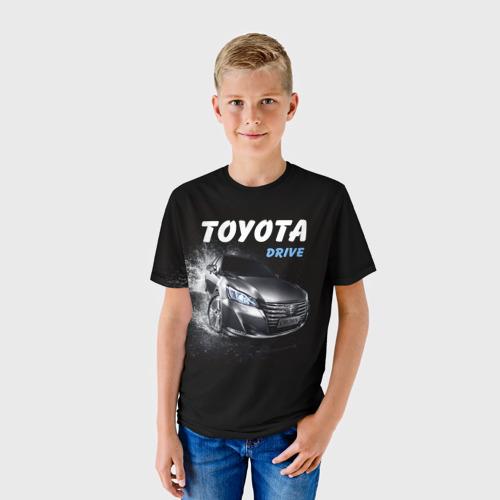 Детская футболка 3D  Фото 01, Toyota Drive