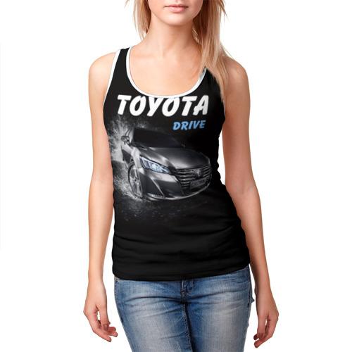 Женская майка 3D  Фото 03, Toyota Drive