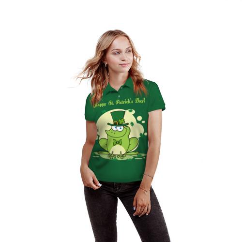 Женская рубашка поло 3D  Фото 03, Ирландия