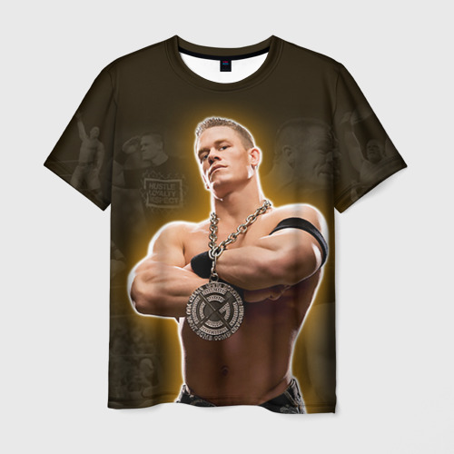 Мужская футболка 3D  Фото 03, Джон Сина 5