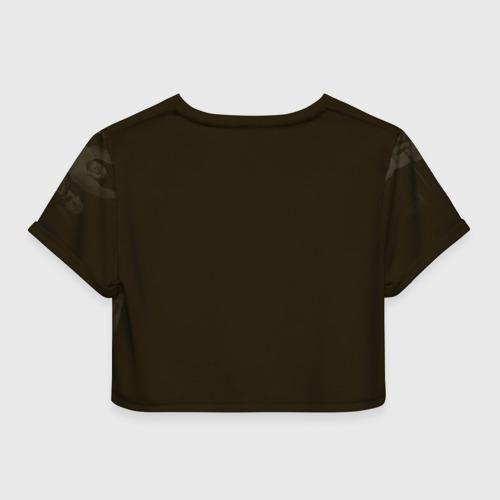 Женская футболка 3D укороченная  Фото 02, Джон Сина 5